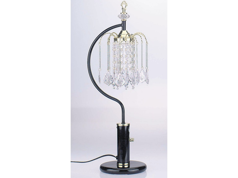Acme Furniture Chandelier Table Lamp 03720BK