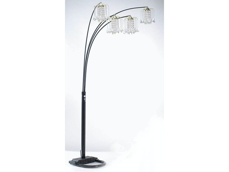 Acme Furniture Chandelier Floor Lamp 03730BK