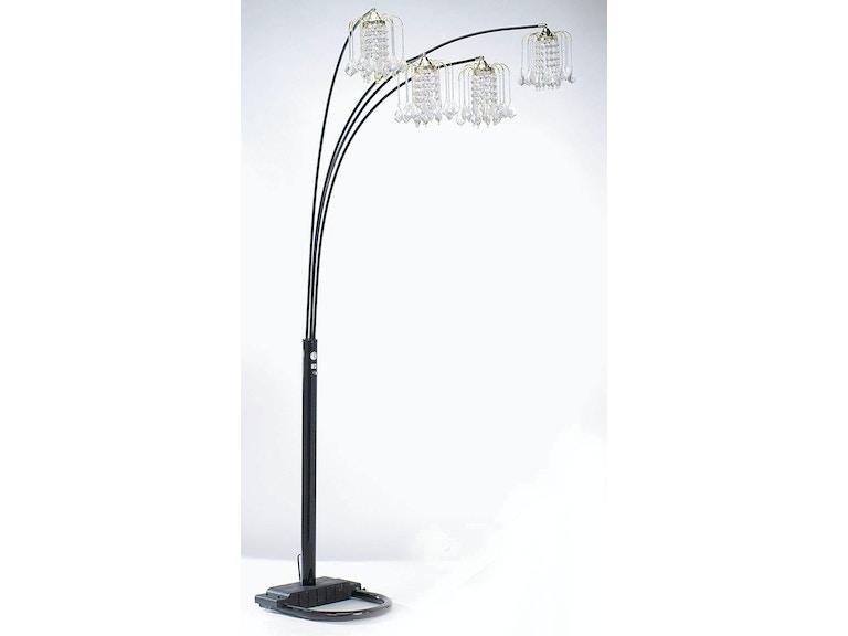 Acme Furniture Chandelier Floor Lamp 03730bk