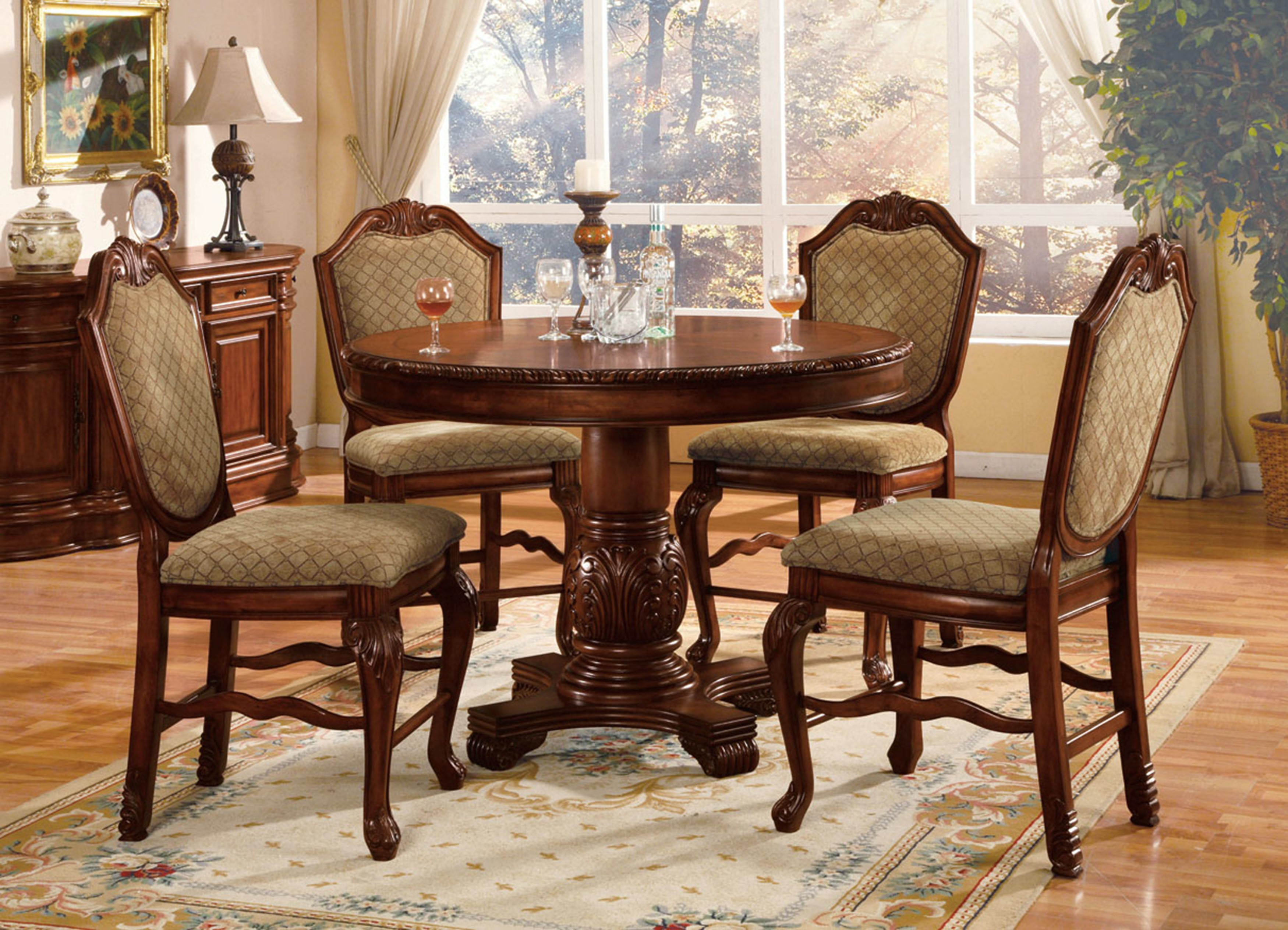 Acme Furniture Chateau De Ville Counter Height Table 04082