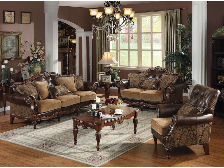 Acme Furniture Living Room Dreena Sofa Fulton Stores Brooklyn Ny
