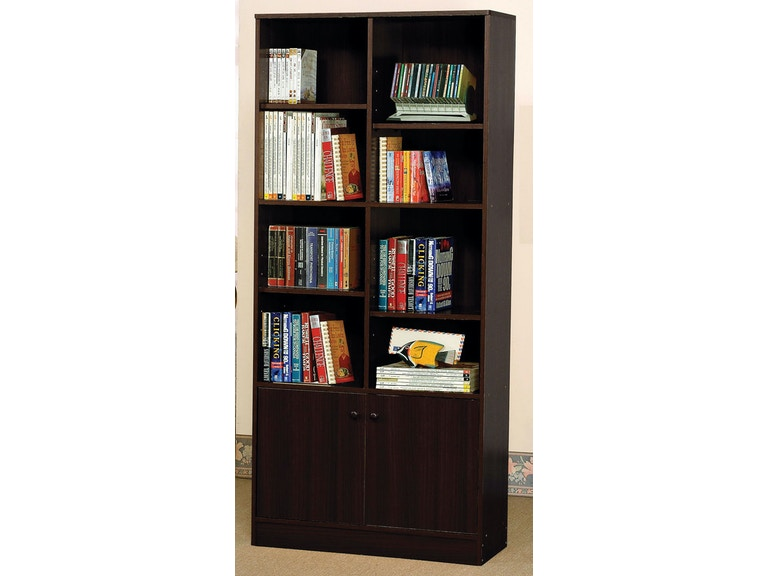Peachy Acme Furniture Home Office Espresso Bookcase 12102 Aarons Home Interior And Landscaping Ologienasavecom