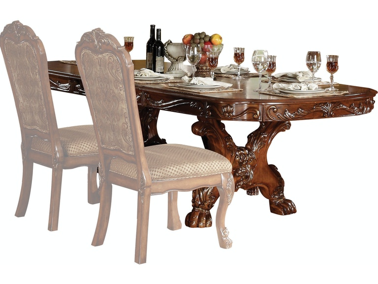Acme Furniture Dining Room Dresden Table 12150 At Hi Desert