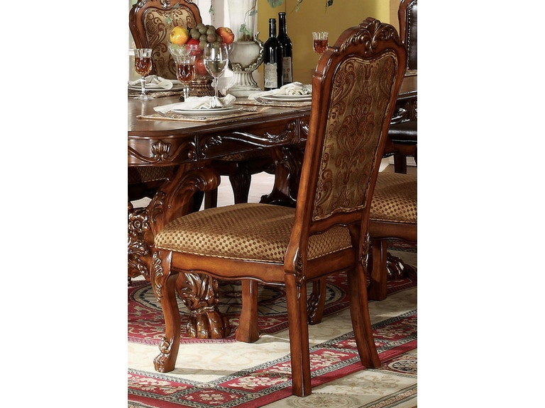 Acme Furniture Dining Room Dresden Side Chair Set Of 2 12153 At Hi Desert