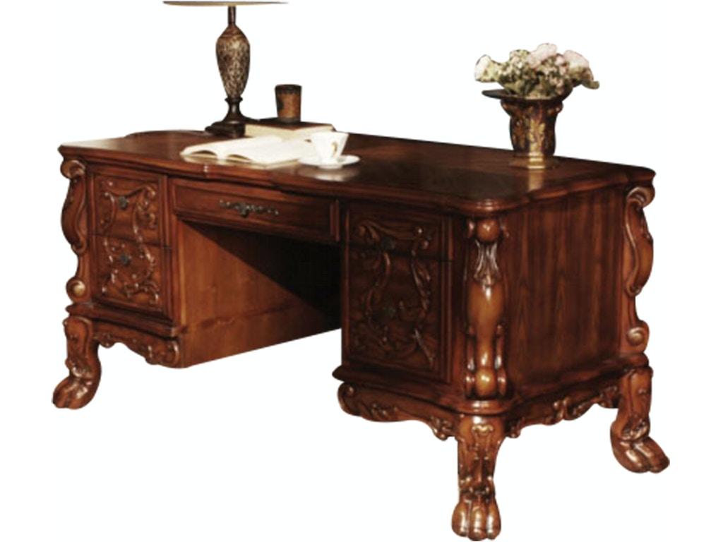 Acme Furniture Home Office Dresden Executive Desk 12169
