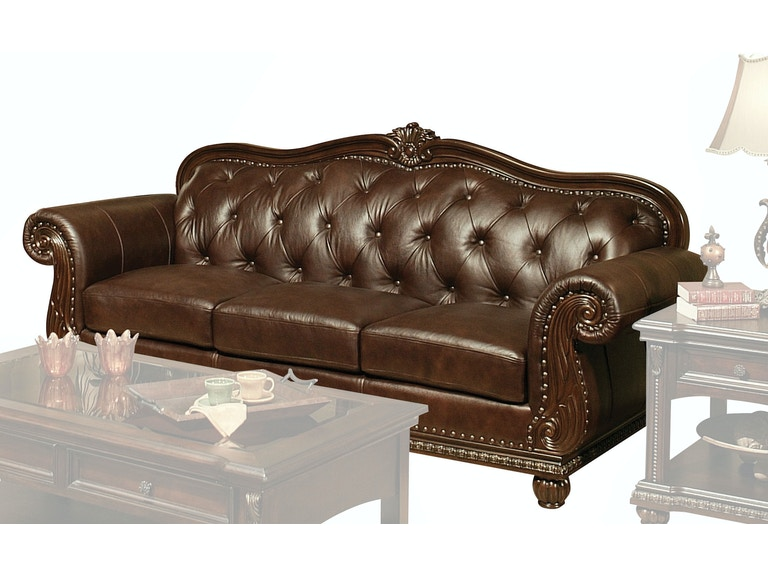 Acme Furniture Living Room Anondale Sofa 15030 The Furniture Mall