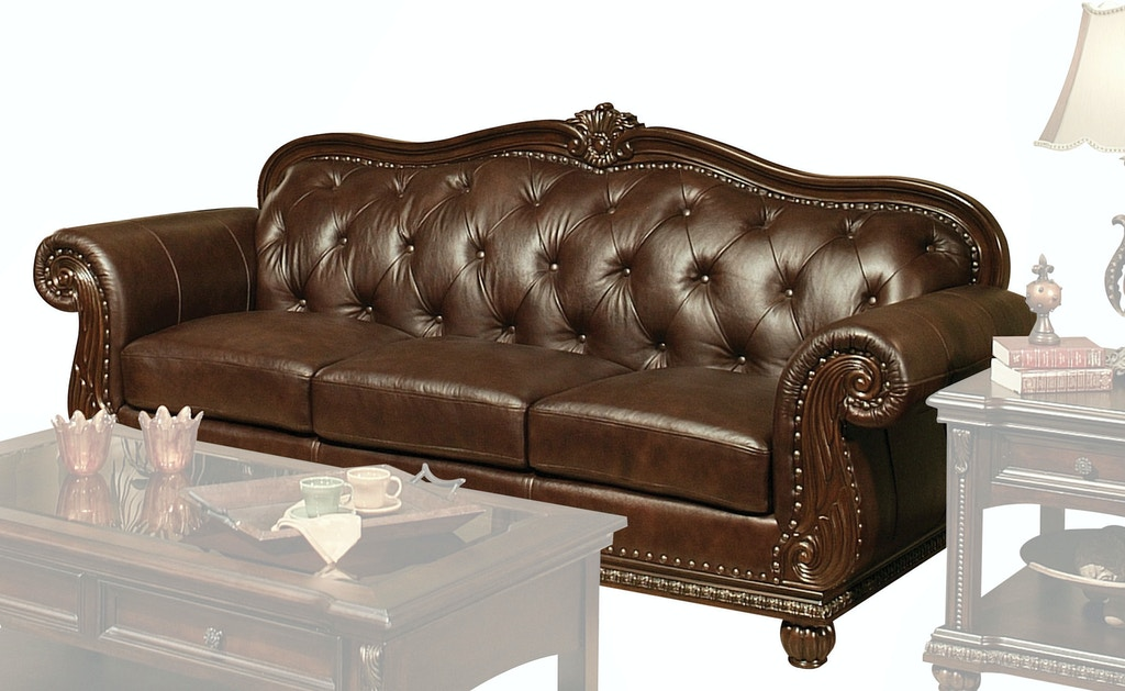 Acme Furniture Living Room Anondale Sofa Fulton Stores