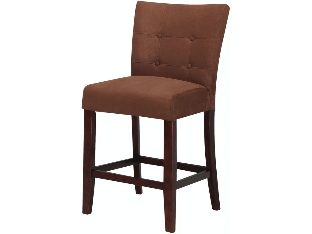 Acme Furniture Bar And Game Room Baldwin Counter Height Chair Set Of 2 16833 Furniture