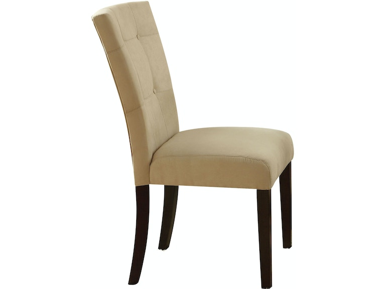 Acme Furniture Dining Room Baldwin Side Chair Set 2 16837 The Furniture Mall Duluth And The