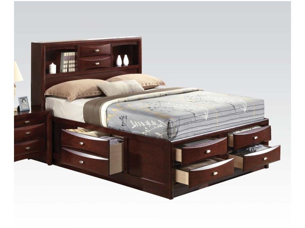 Acme Ireland Full Bed With Storage