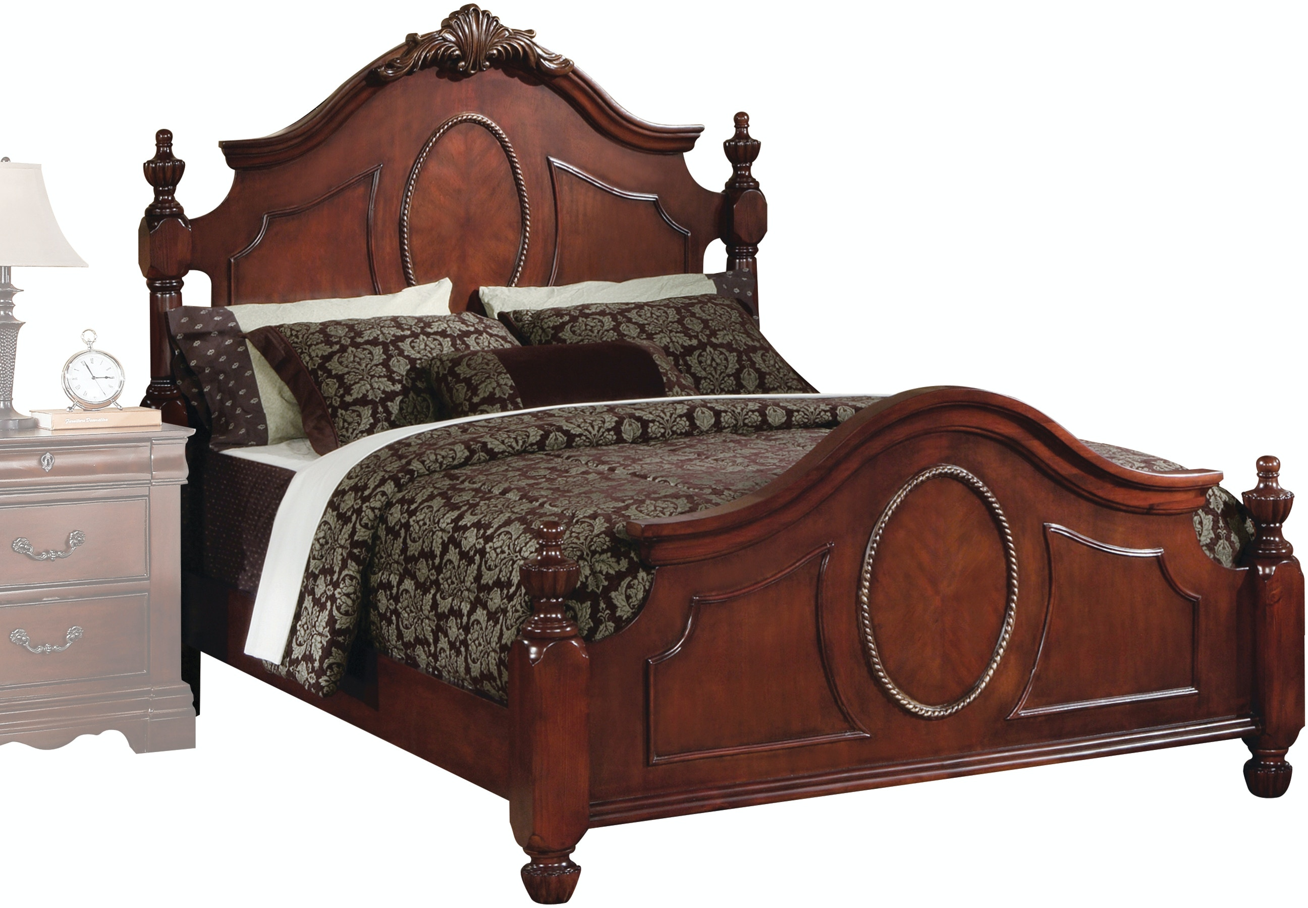 acme furniture bedroom estrella queen bed 21730q   simply