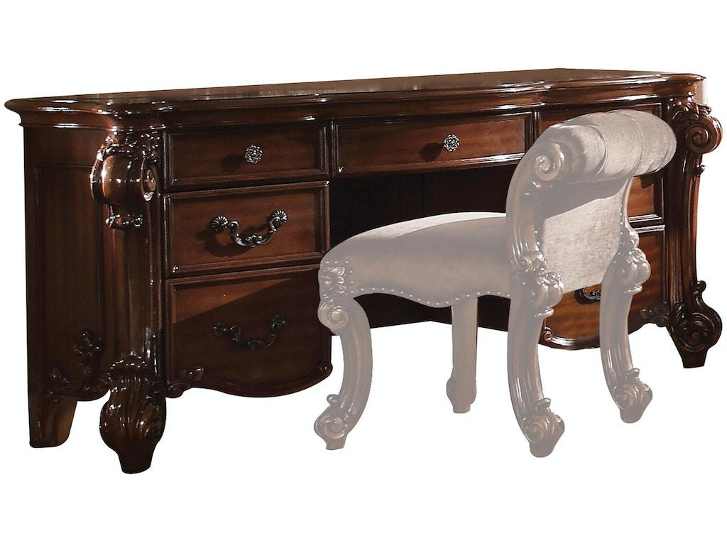 Acme furniture home office vendome vanity desk 22009 for Vanity desk furniture
