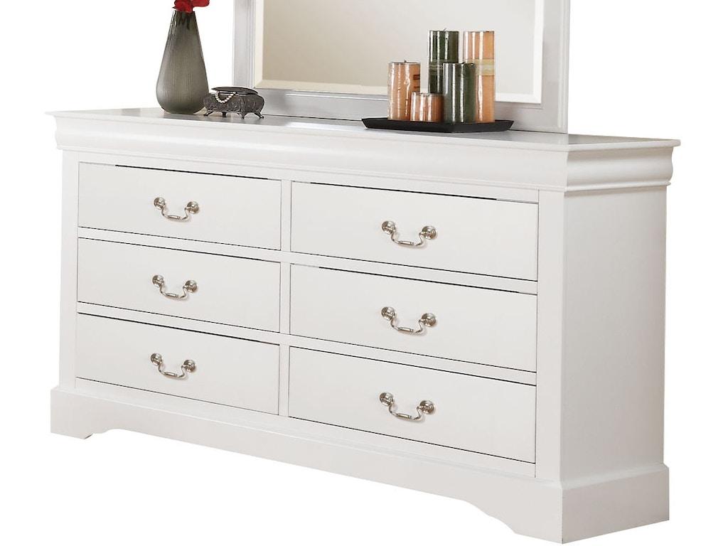 Acme Furniture Bedroom Louis Philippe Iii Dresser 24505