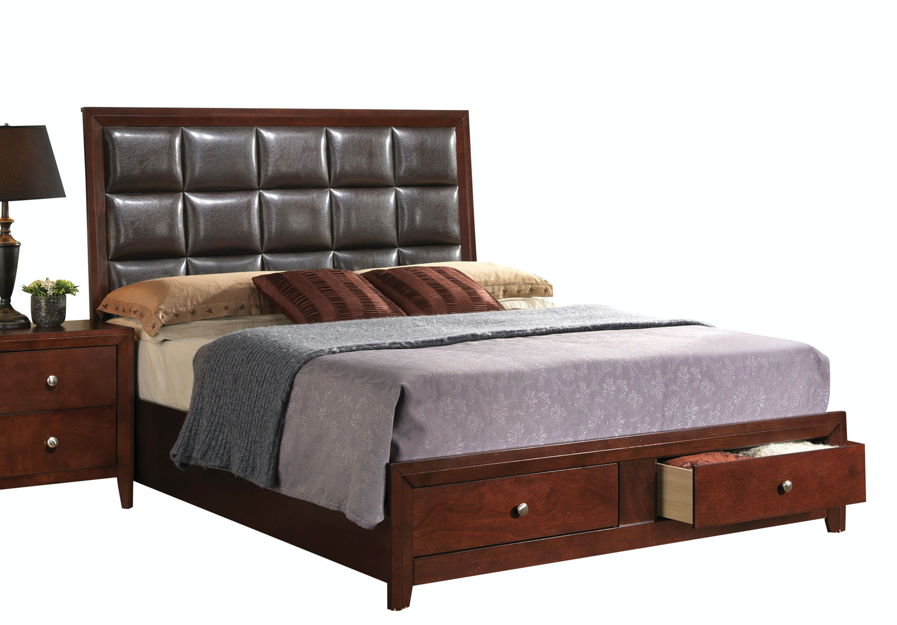 Acme Furniture Ilana Queen Bed with Storage