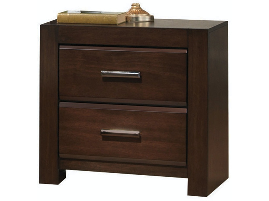 Acme furniture bedroom oberreit nightstand 25793 simply for Cheap affordable furniture