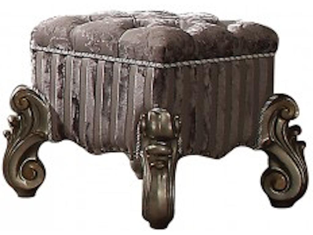 Acme Furniture Bedroom Vanity Stool 26848 - Great Deals on ...
