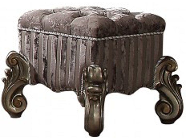 Acme Furniture Bedroom Vanity Stool 26848 - Sides Furniture ...