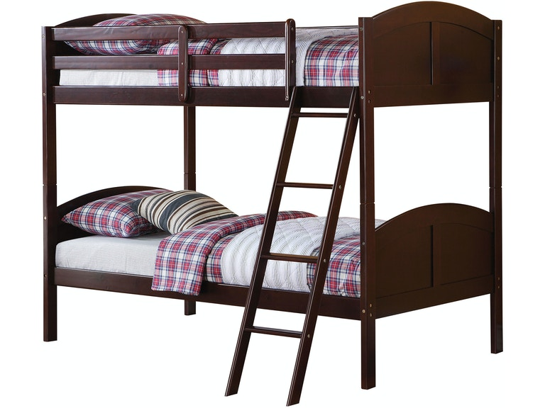 Acme Furniture Youth Bedroom Toshi Twin Over Twin Bunk Bed Fulton