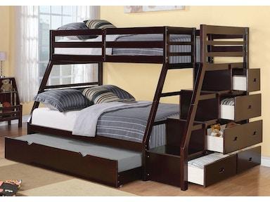 acme furniture youth jason twin  full bunk bed   drawers  atlantic bedding
