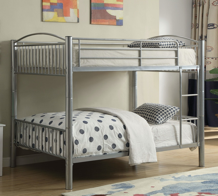 Acme Furniture Youth Cayelynn Full Full Bunk Bed 37390si Aaron S Fine Furniture Altamonte