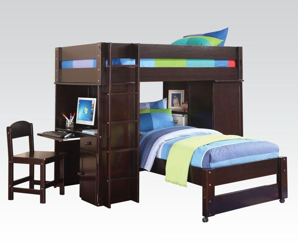 Merveilleux Acme Furniture Lars Loft Bed U0026 Twin Bed 37495