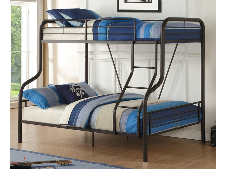 Acme Furniture Youth Cairo Twin Over Full Bunk Bed 37610 Gallery
