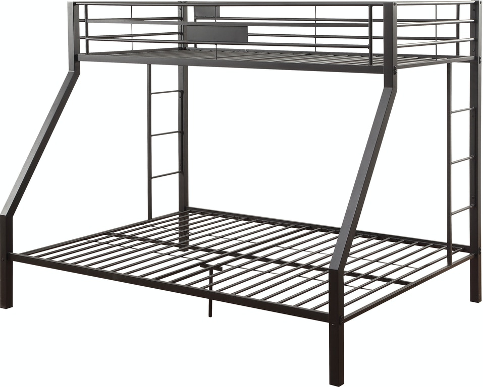 fe5ee1d41567 Acme Furniture Youth Limbra Twin XL over Queen Bunk Bed 38000 - Z ...
