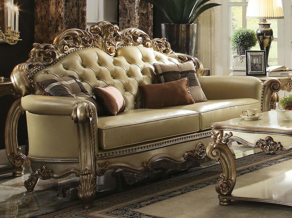 Acme Furniture Living Room Vendome Sofa 53000 Simply Discount