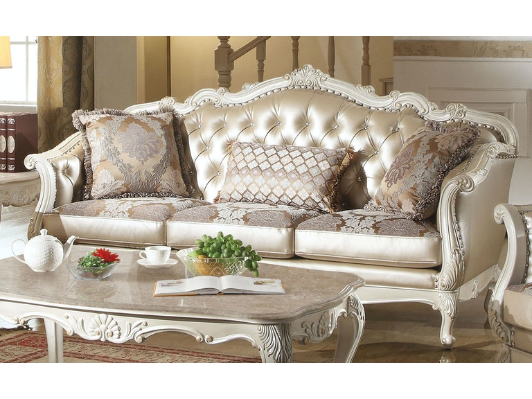Chantelle Sofa with 3 Pillows