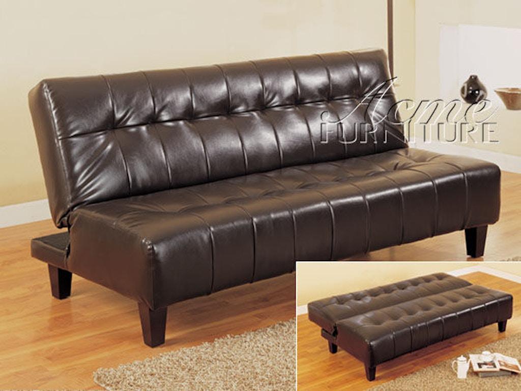 Acme Furniture Living Room Conrad Adjustable Sofa Fulton
