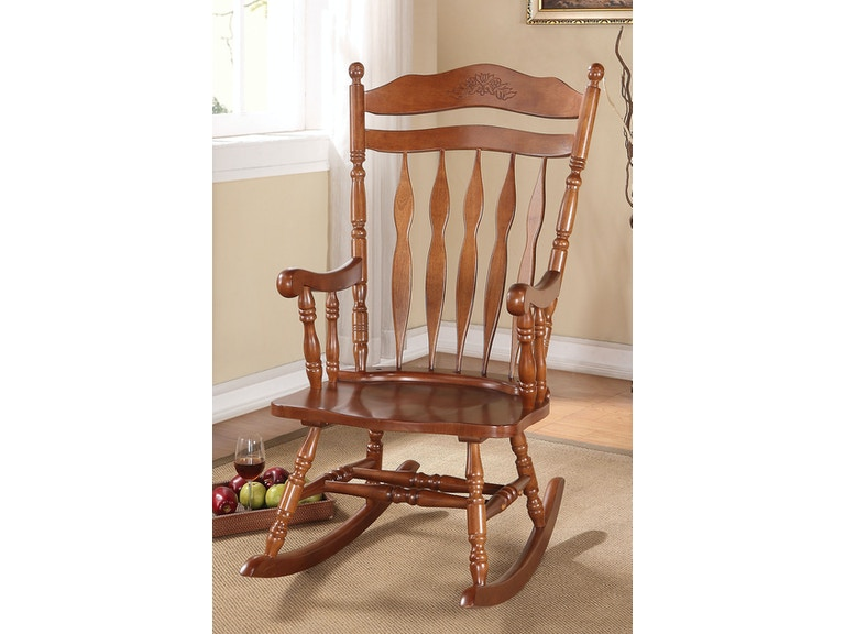 Pleasing Dark Walnut Rocking Chair Gmtry Best Dining Table And Chair Ideas Images Gmtryco