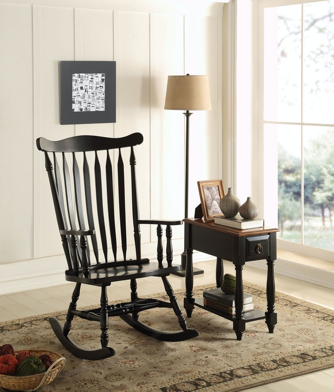 Acme Furniture Living Room Kloris Rocking Chair - Fulton Stores ...