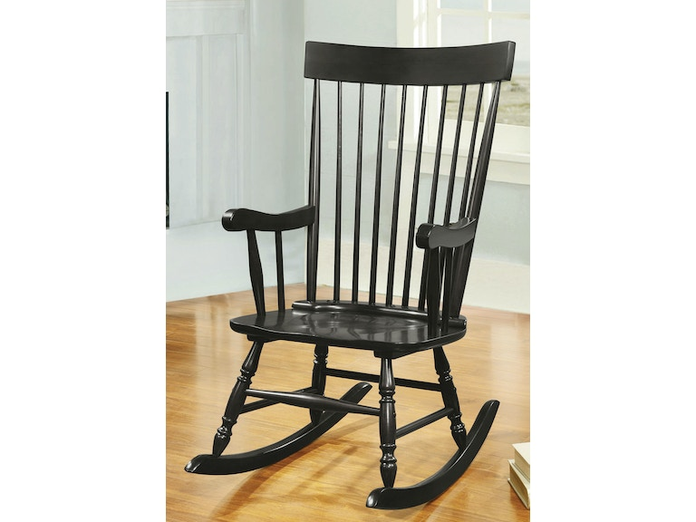 Peachy Black Rocking Chair Gmtry Best Dining Table And Chair Ideas Images Gmtryco