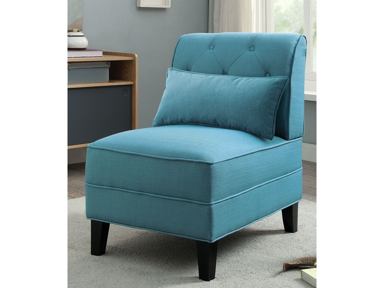 Acme Furniture Susanna Accent Chair With Pillow 59610