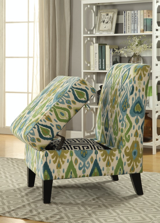 Acme Furniture Ollano II Accent Chair with Storage 59616