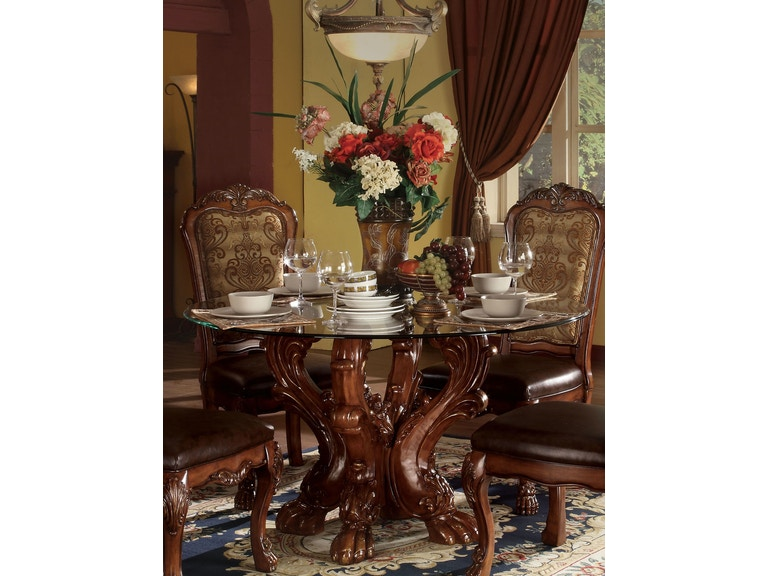 Acme Furniture Dining Room Dresden Table 60010 At Gallery