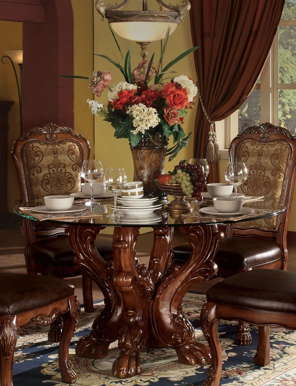 Acme Furniture Dining Room Dresden Dining Table Fulton