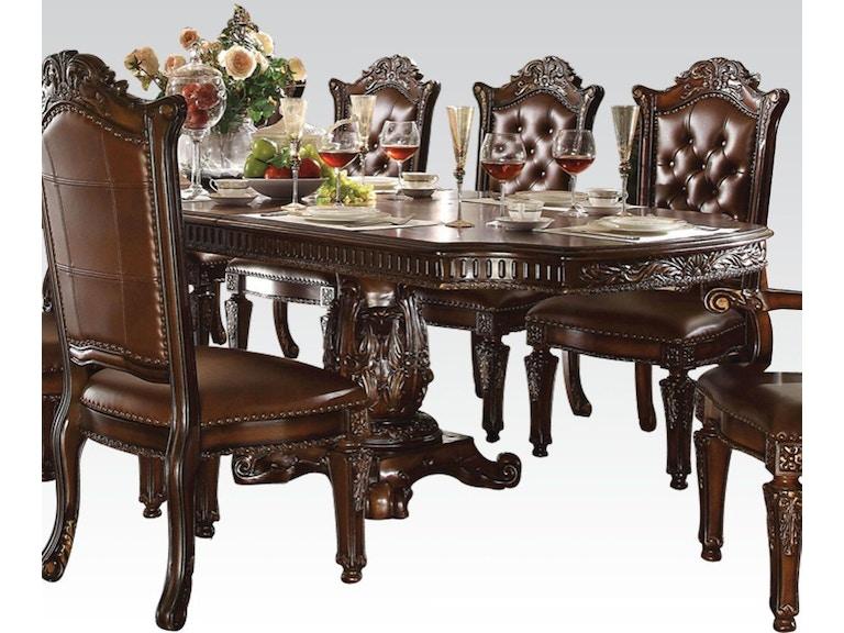 264ed5e37a5f1e Acme Furniture Dining Room Vendome Dining Table 62000 at The Furniture Mall