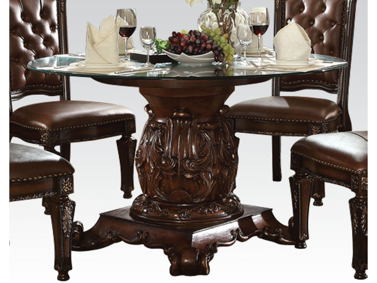 1d5cc620d99b8b Acme Furniture Dining Room Vendome Dining Table (54''Dia) 62010 at The  Furniture Mall