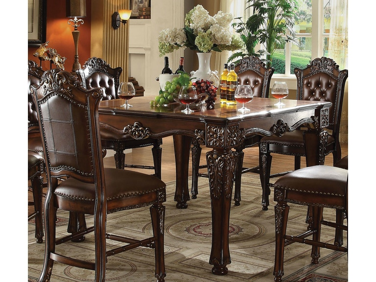 9ce805f71ee14b Acme Furniture Dining Room Vendome Counter Height Table 62025 at The  Furniture Mall
