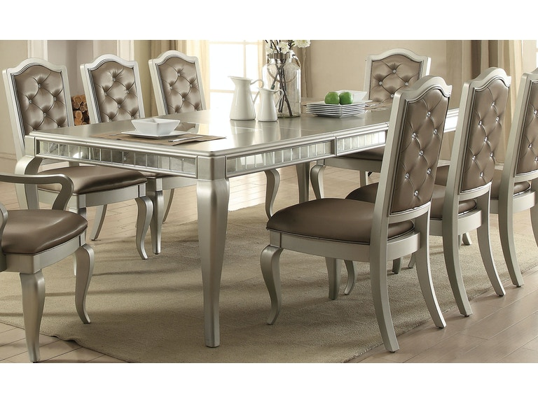 Acme Furniture Dining Room Francesca Dining Table 62080 The
