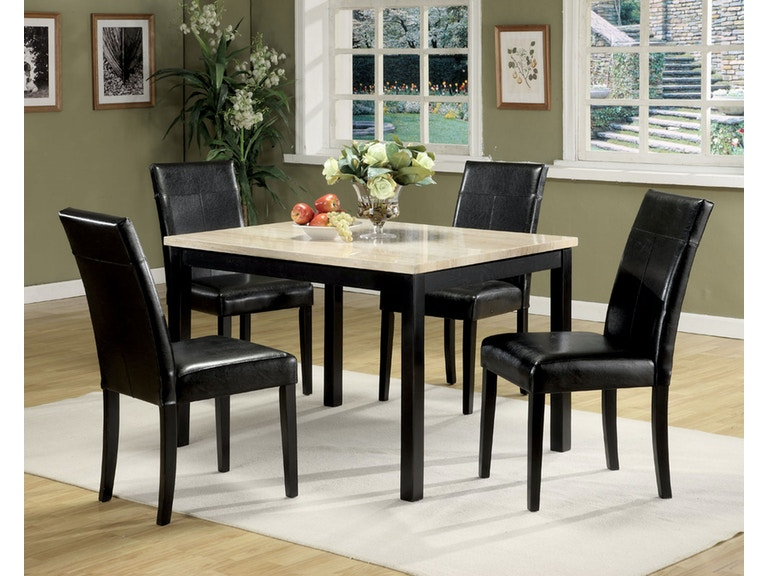 Acme Furniture Dining Room Portland 5 Piece Dining Set 06776 The