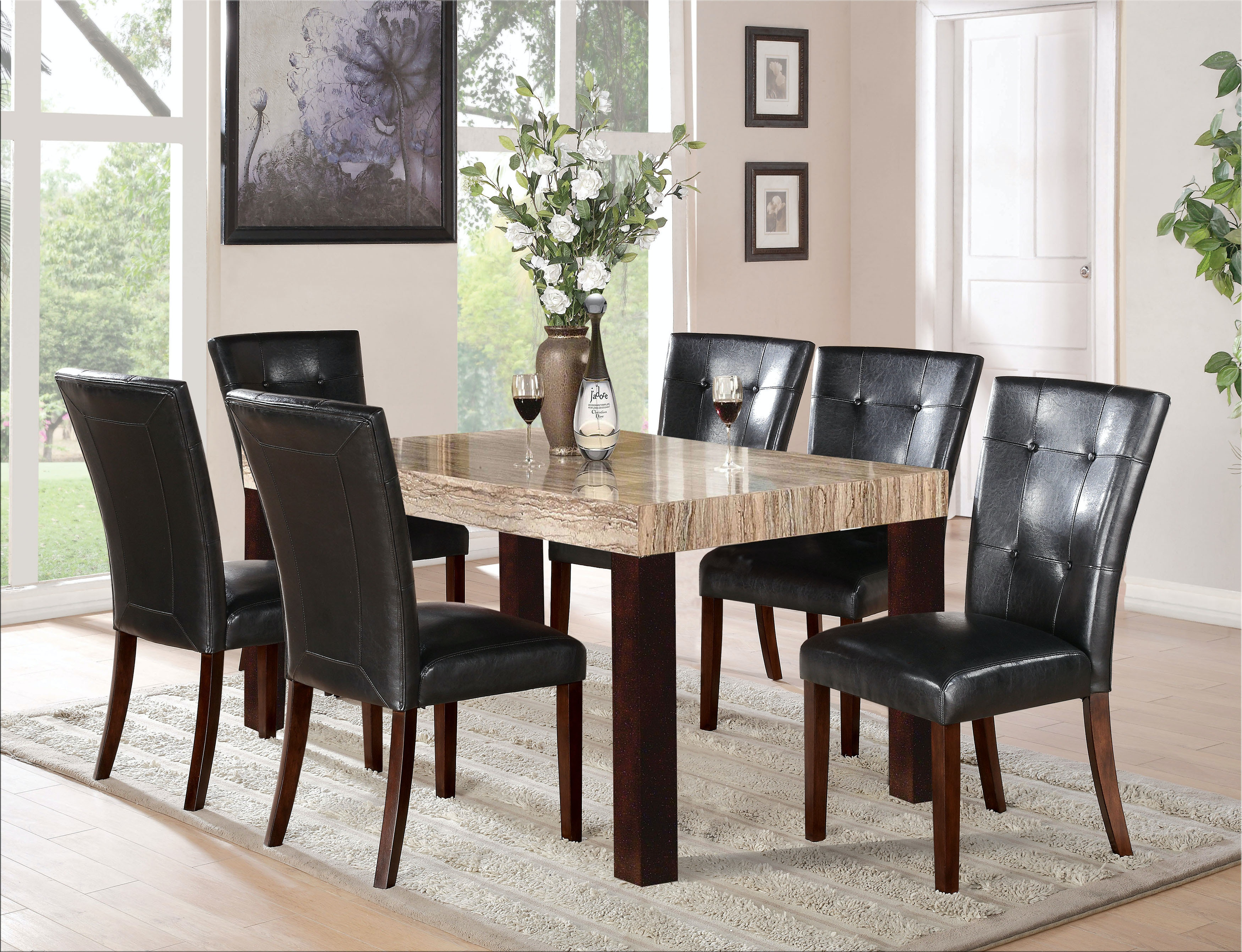 Exceptional Acme Furniture Fraser Dining Table 70130