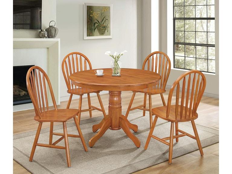 Acme Furniture Farmhouse 5 Piece Dining Set 07021
