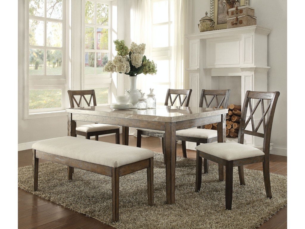 Acme Furniture Dining Room Claudia Dining Table 71715