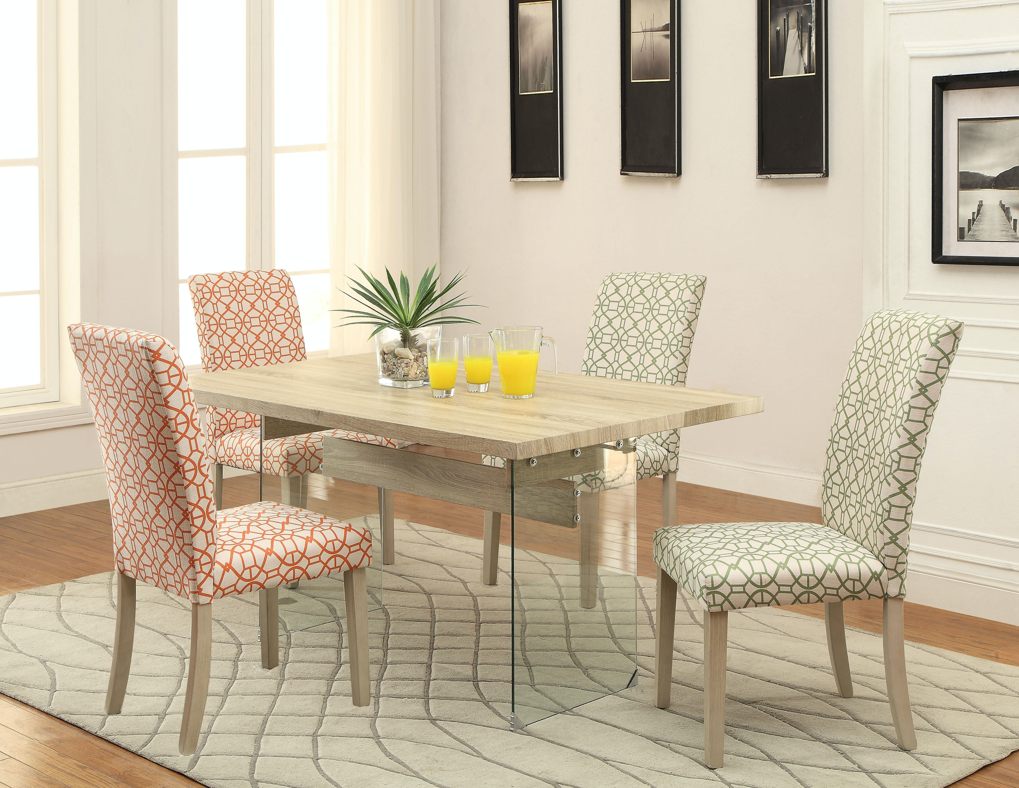Acme Dining Room Furniture Acme Furniture Glassden Dining Table
