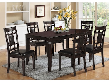 Acme Furniture Dining Room Espresso 7 Piece Dining Set 71955 Great