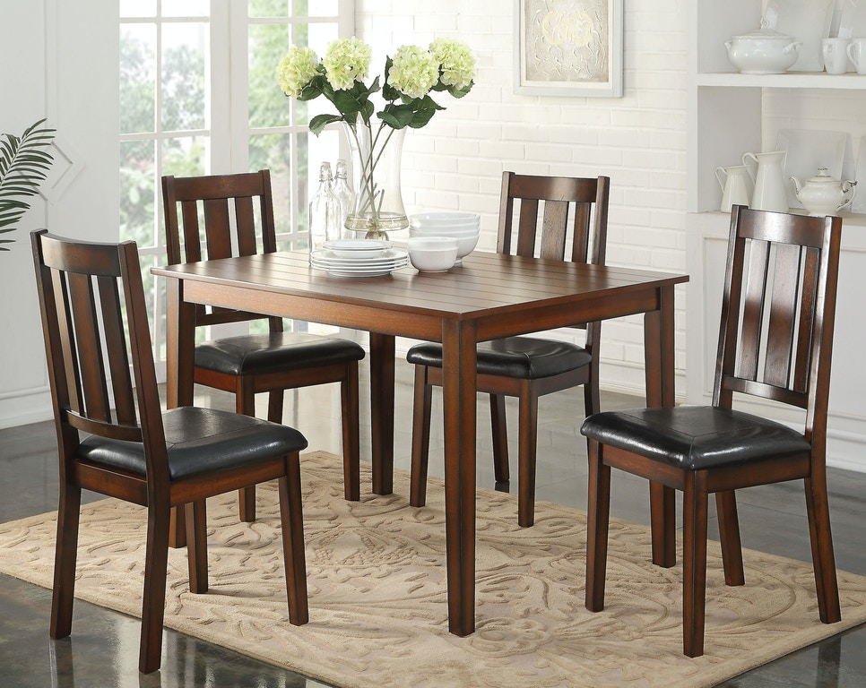 Heavy Duty Folding Picnic Table, Acme Furniture Dining Room Flihvine 5pc Pack Dining Set 72505 The Furniture Mall Duluth