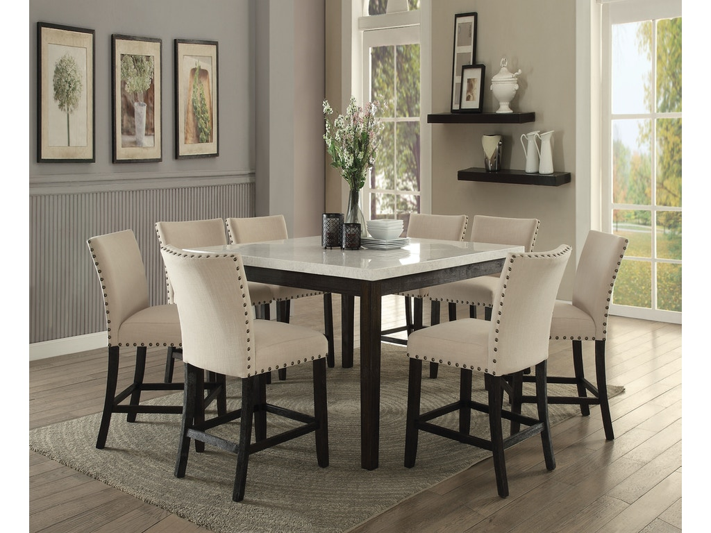 Acme Furniture Dining Room Nolan Counter Height Table