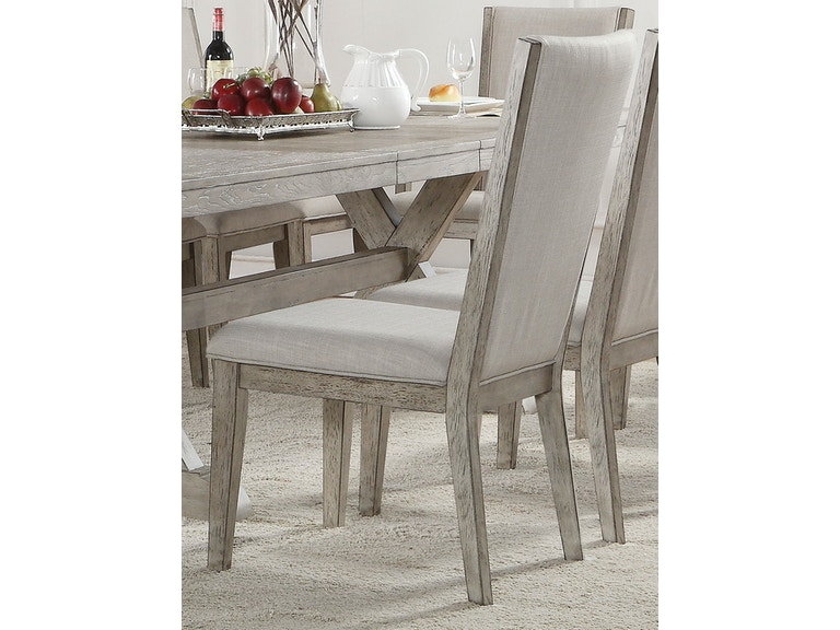 e9d8196dbd5f Acme Furniture Dining Room Rocky Side Chair (Set of 2)
